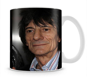 Ronnie Wood Mug - Canvas Art Rocks - 1