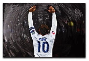Rooney England Canvas Print or Poster  - Canvas Art Rocks - 1