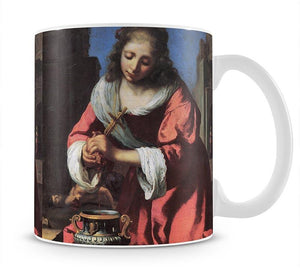 Saint Praxedis by Vermeer Mug - Canvas Art Rocks - 1