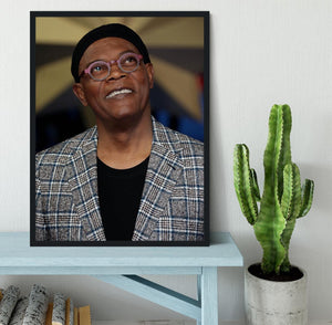 Samuel L Jackson Framed Print - Canvas Art Rocks - 2
