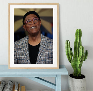 Samuel L Jackson Framed Print - Canvas Art Rocks - 3