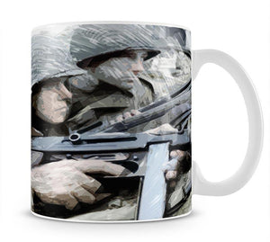 Saving Private Ryan Mug - Canvas Art Rocks - 1