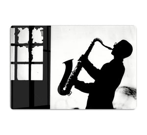 Saxophone player HD Metal Print - Canvas Art Rocks - 1