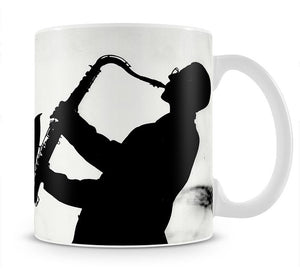Saxophone player Mug - Canvas Art Rocks - 1