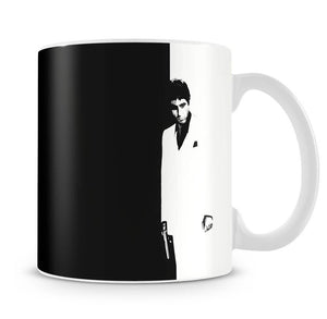 Scarface Black and White Mug - Canvas Art Rocks