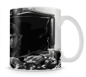 Scarface at his desk Mug - Canvas Art Rocks - 1