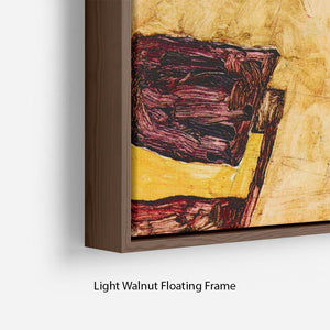 Schiele's living room in Neulengbach by Egon Schiele Floating Frame Canvas - Canvas Art Rocks - 8