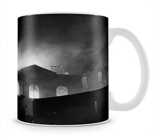 School ablaze Hatton Garden London Mug - Canvas Art Rocks - 1