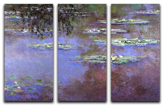 Sea roses 4 by Monet Split Panel Canvas Print