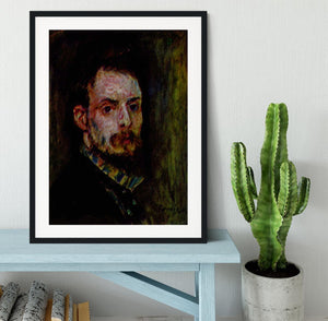 Self Portrait 2 by Renoir Framed Print - Canvas Art Rocks - 1