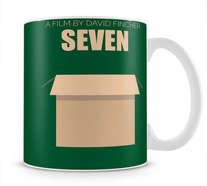 Seven Minimal Movie Mug - Canvas Art Rocks - 1