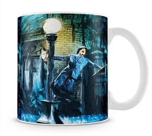 Singing In The Rain Life Isnt About Waiting Mug - Canvas Art Rocks - 1