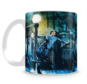 Singing In The Rain Life Isnt About Waiting Mug - Canvas Art Rocks - 2