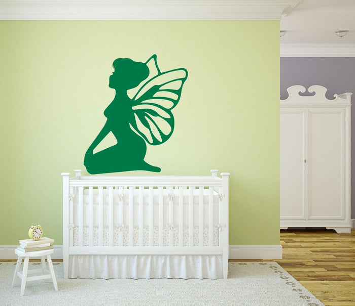 Sitting Fairy Wall Sticker