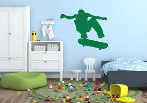 Skateboard Wall Sticker - Canvas Art Rocks