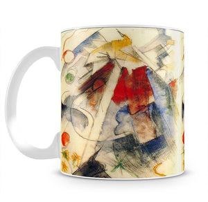 Sketch of the Brenner road 1 by Franz Marc Mug - Canvas Art Rocks - 2