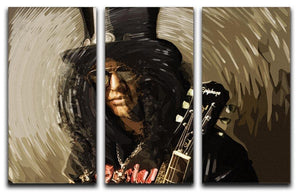 Slash 3 Split Panel Canvas Print - Canvas Art Rocks - 1