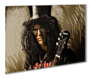 Slash Outdoor Metal Print - Canvas Art Rocks - 1