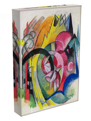 Small composition II by Franz Marc Canvas Print or Poster - Canvas Art Rocks - 3