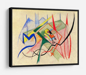 Small mythical creatures by Franz Marc HD Metal Print