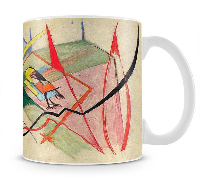 Small mythical creatures by Franz Marc Mug