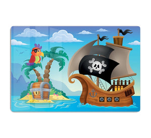 Small pirate island theme 2 HD Metal Print