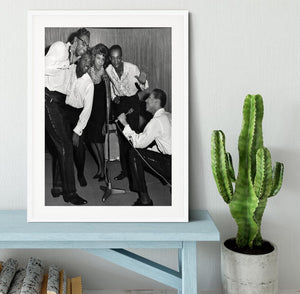 Smokey Robinson and the Miracles Framed Print - Canvas Art Rocks - 5