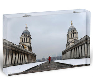 Snow in Greenwich Acrylic Block - Canvas Art Rocks - 1