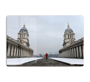 Snow in Greenwich HD Metal Print - Canvas Art Rocks - 1