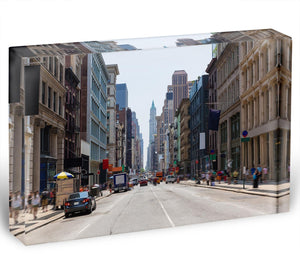 Soho buildings facade Acrylic Block - Canvas Art Rocks - 1