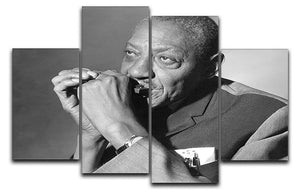 Sonny Boy Williamson 4 Split Panel Canvas - Canvas Art Rocks - 1
