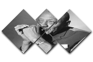 Sonny Boy Williamson 4 Square Multi Panel Canvas - Canvas Art Rocks - 1