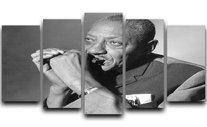 Sonny Boy Williamson 5 Split Panel Canvas - Canvas Art Rocks - 1