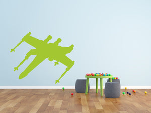 Space Fighter - Version 2 Wall Sticker - Canvas Art Rocks - 1
