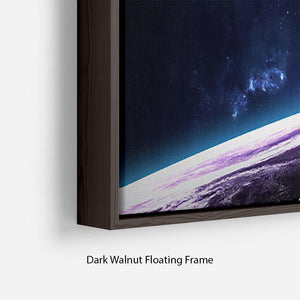 Space Planets Floating Frame Canvas