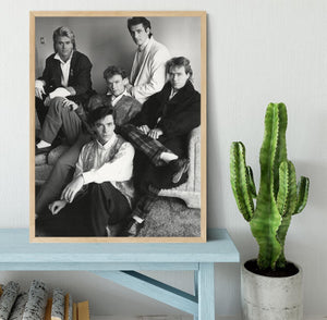 Spandau Ballet Framed Print - Canvas Art Rocks - 4
