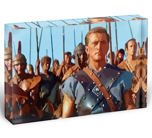 Spartacus Acrylic Block - Canvas Art Rocks - 1