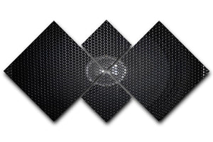 Speaker grill 4 Square Multi Panel Canvas  - Canvas Art Rocks - 1