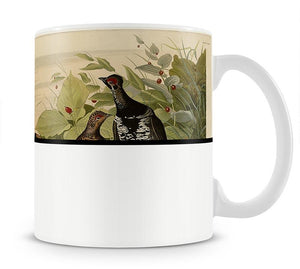 Spotted Grouse by Audubon Mug - Canvas Art Rocks - 1