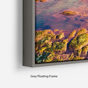 Spring sunset from the Giallonardo Floating Frame Canvas