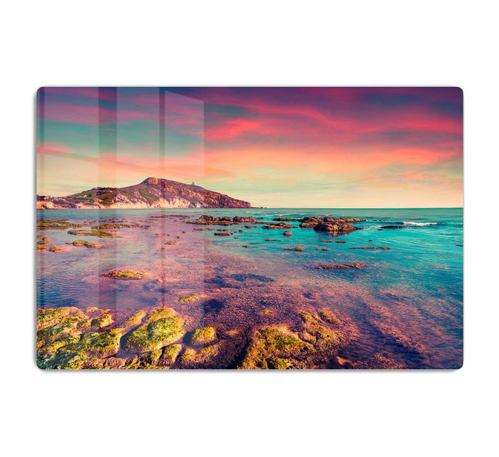 Spring sunset from the Giallonardo HD Metal Print