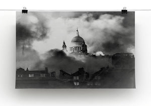 St Pauls Survives Canvas Print or Poster - Canvas Art Rocks - 2