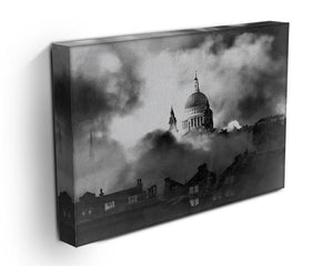 St Pauls Survives Canvas Print or Poster - Canvas Art Rocks - 3