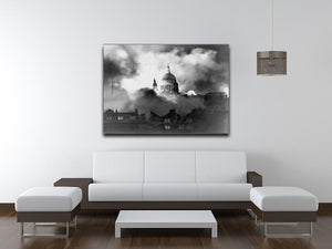 St Pauls Survives Canvas Print or Poster - Canvas Art Rocks - 4