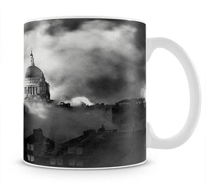 St Pauls Survives Mug - Canvas Art Rocks - 1