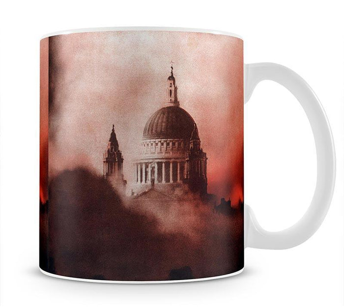 St Pauls Survives in colour Mug