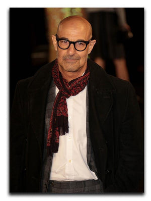 Stanley Tucci Canvas Print or Poster - Canvas Art Rocks - 1