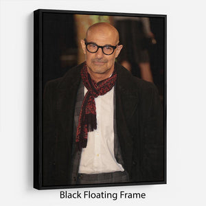 Stanley Tucci Floating Frame Canvas - Canvas Art Rocks - 1