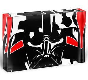 Star Wars Inspired Darth Vader Redback Acrylic Block - Canvas Art Rocks - 1