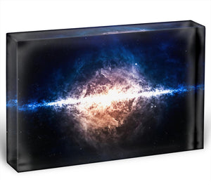 Star field in deep space Acrylic Block - Canvas Art Rocks - 1